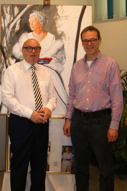 Britischer Botschafter Sir Simon McDonald, Berlin