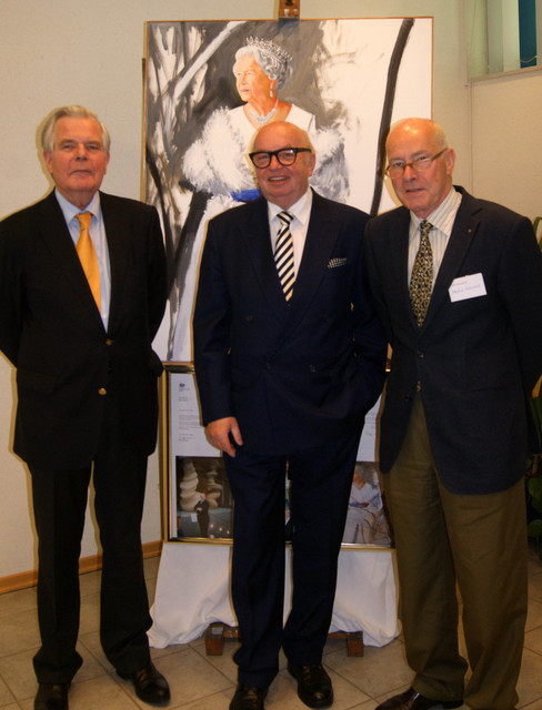 Herr Henning Horstmann, Botschafter am Heiligen Stuhl, und Manfred R. Eisenbach, Vorstand Deutsch-Britische Gesellschaft, Berlin